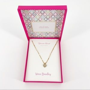 Vera Bradley You are Loved Necklace
